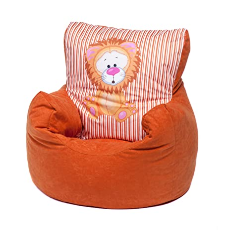 Fine Loft 25 Toddler Animal Print Soft Plush Bean Bag Chair Lion Orange Creativecarmelina Interior Chair Design Creativecarmelinacom
