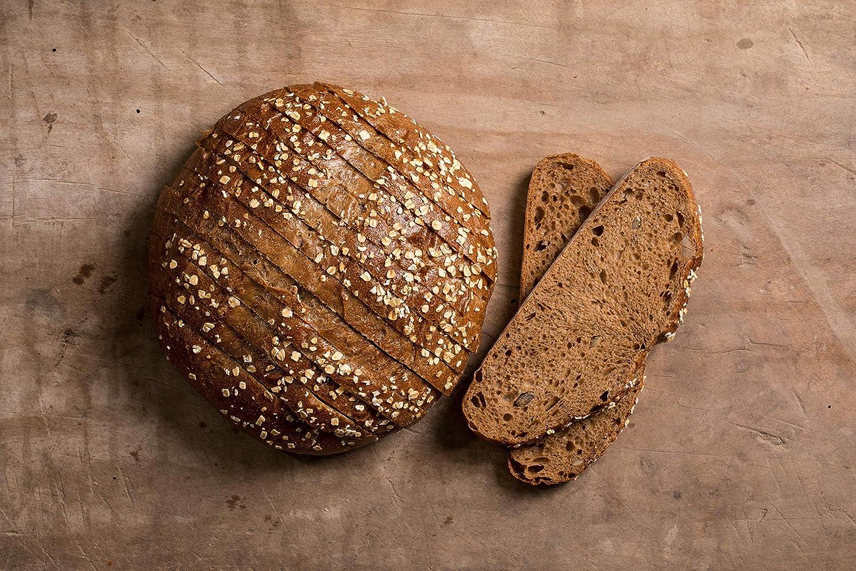 The Rustik Bakery - Hogaza entera masa madre Centeno y pipas, 450 ...