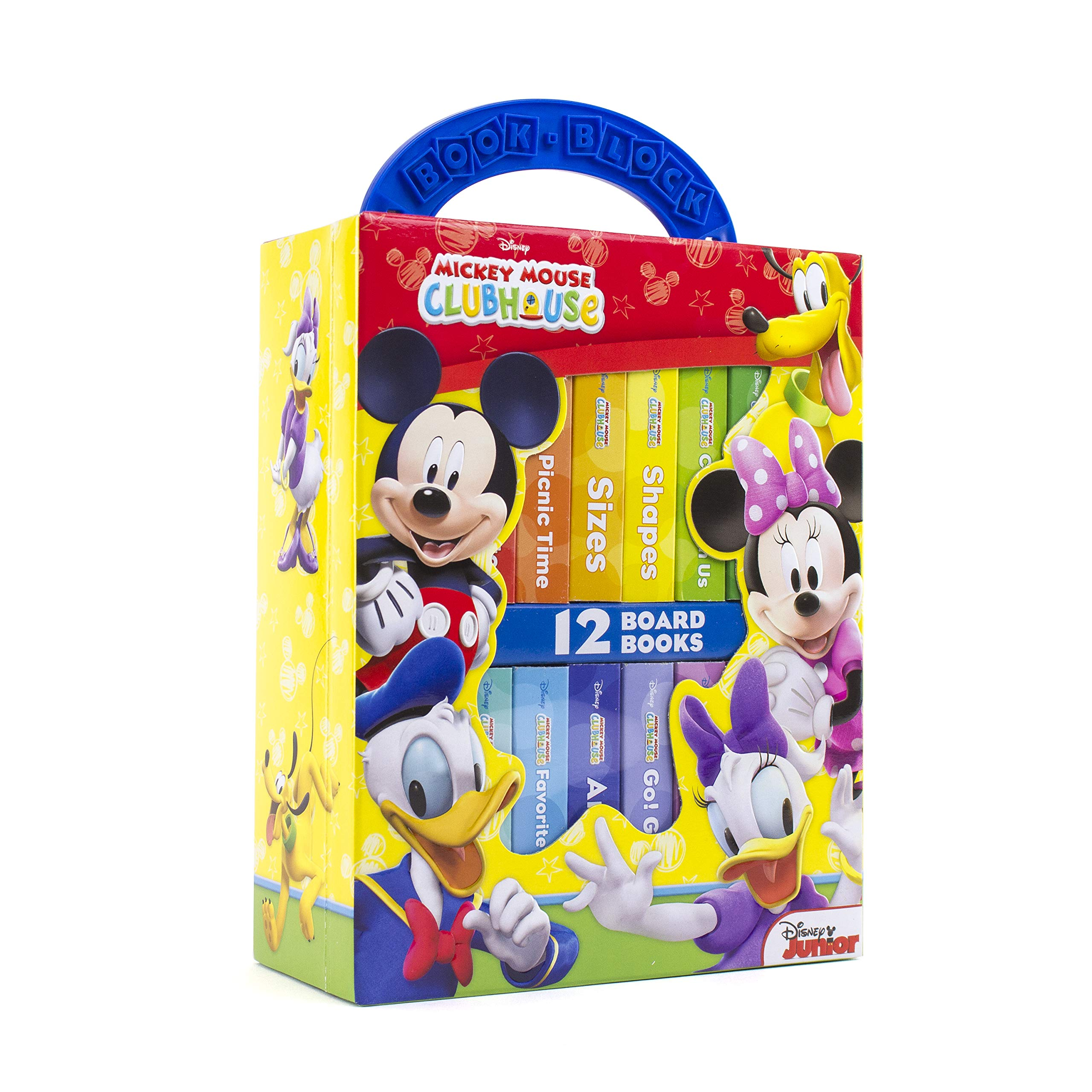 5248b2d89d Disney Mickey Mouse Clubhouse - My First Library Board Book Block 12-Book  Set - PI Kids  Editors of Phoenix International Publications   9781412768511  ...
