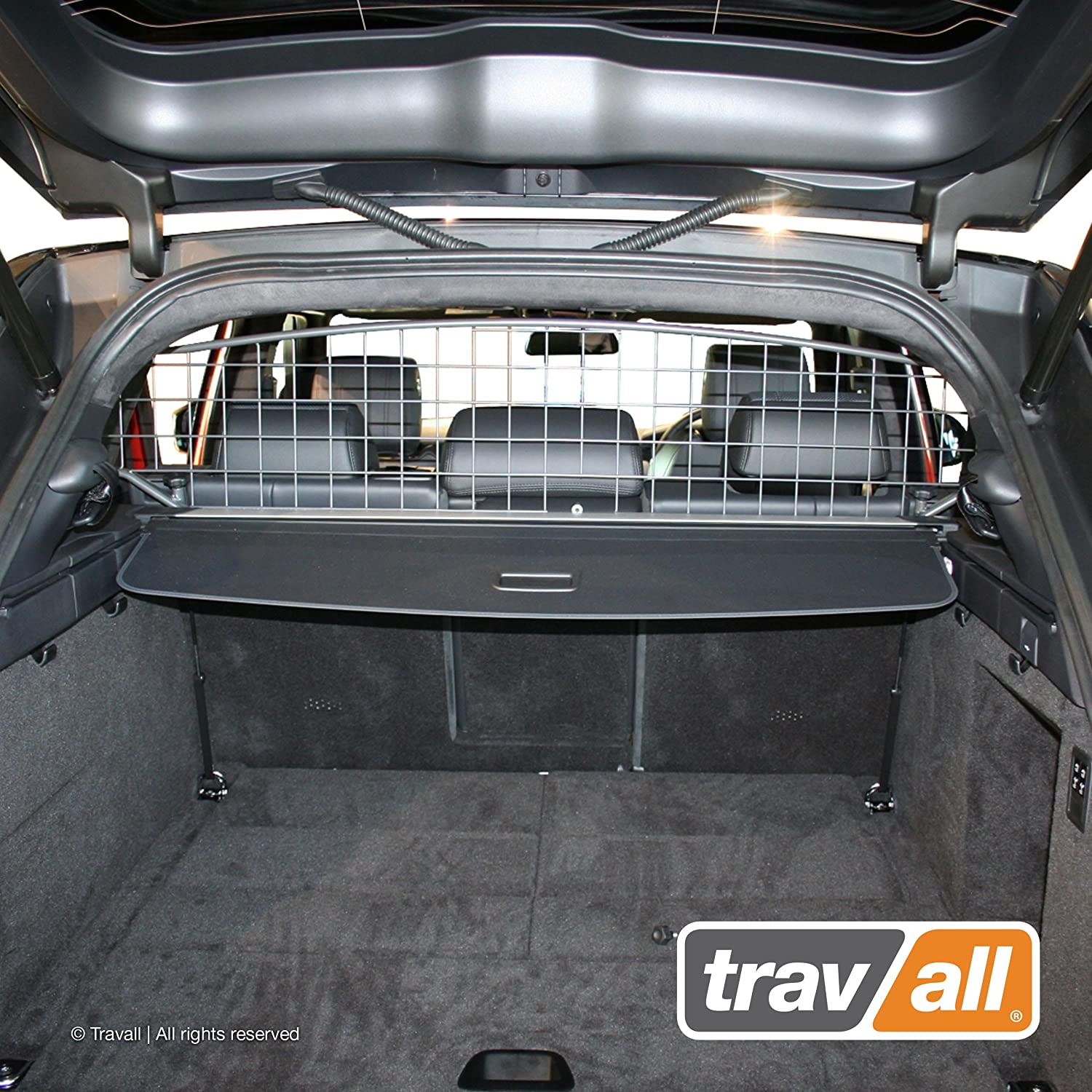 Travall Guard Compatible with Land Rover Range Rover Sport (2013-Current) Range Rover Sport SVR (2015-Current) TDG1394 - Rattle-Free Steel Pet Barrier
