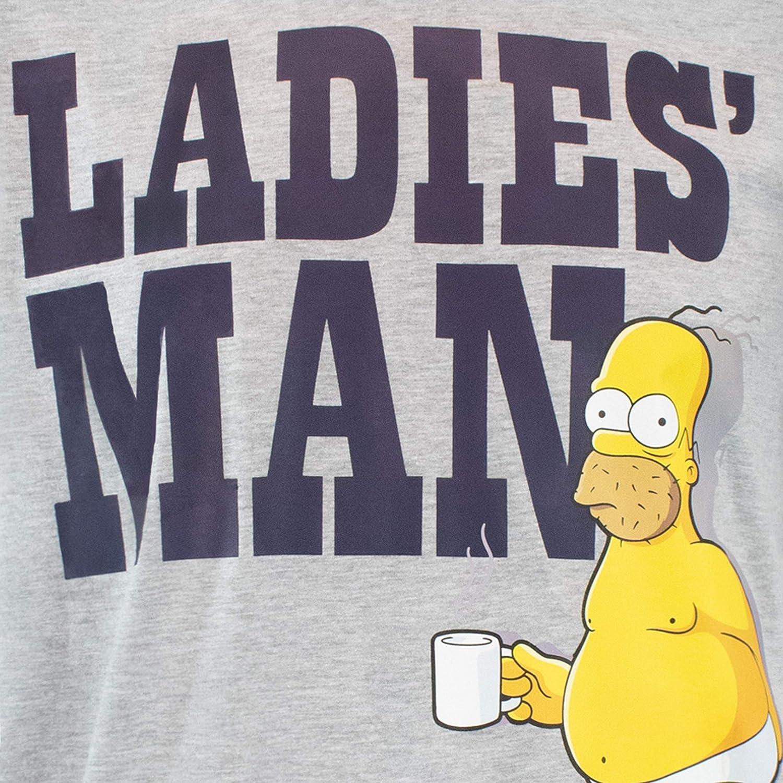 The Simpsons Pigiama per Uomo Homer Simpson