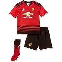adidas 18/19 Manchester United Home Minikit Conjunto, Bebé-Niños