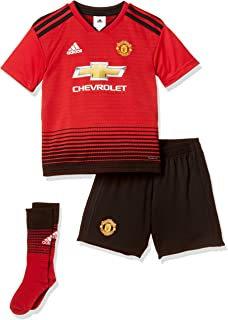 fa9f6c92 adidas Manchester United 2019/20 Kids Junior Mini Home Football Kit ...