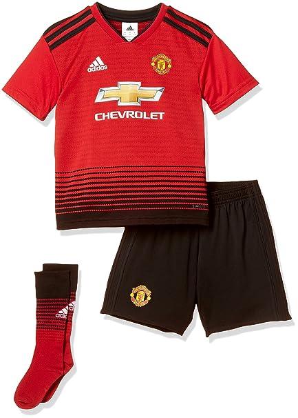 adidas Children's Manchester United Home Mini Kit