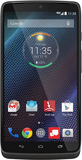 Amazon Com Motorola Droid Turbo Metallic Black 32gb Verizon Wireless