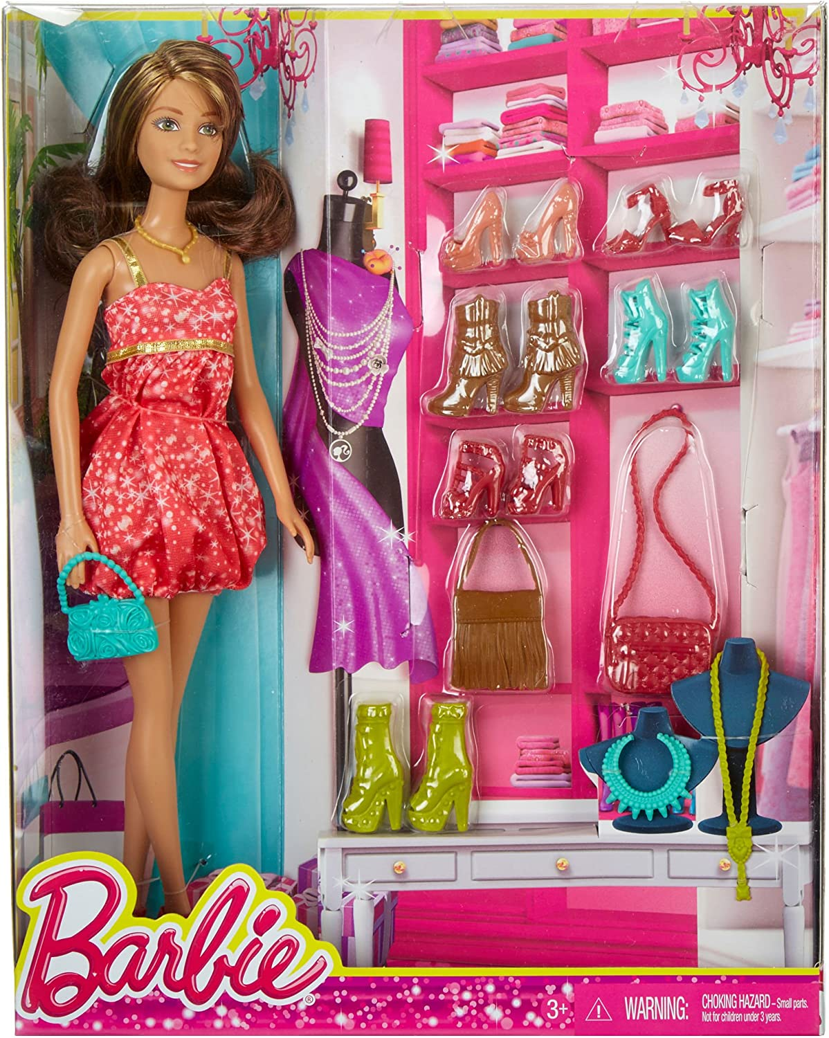 BARBIE DOLL AND SHOES DMK57