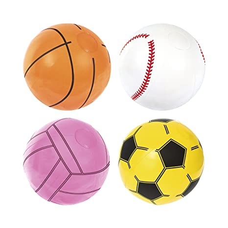 Bestway 31004 pelota de playa Naranja, Rosa, Blanco, Amarillo Vinilo 41 cm -
