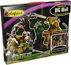 Colorforms Brand Teenage Mutant Ninja Turtles Big Wall Playset