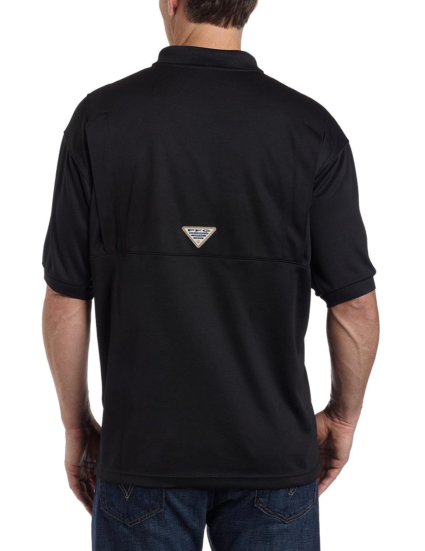cd22daed17f Amazon.com: Columbia Men's PFG Perfect Cast Polo Shirt, Breathable, UV  Protection: Clothing