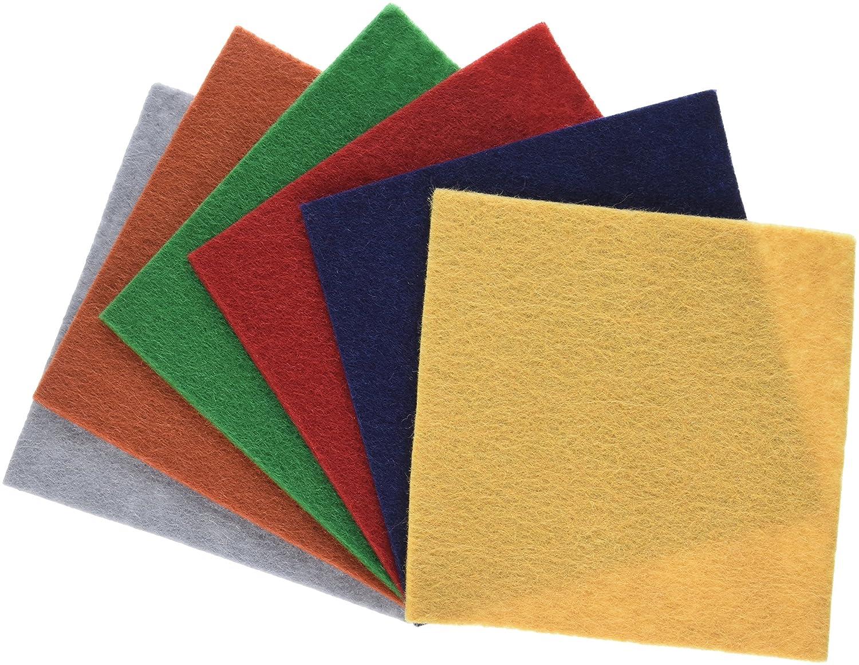 National Nonwovens WCF006-RC 100% Rustic Charm Pack Wool Felt