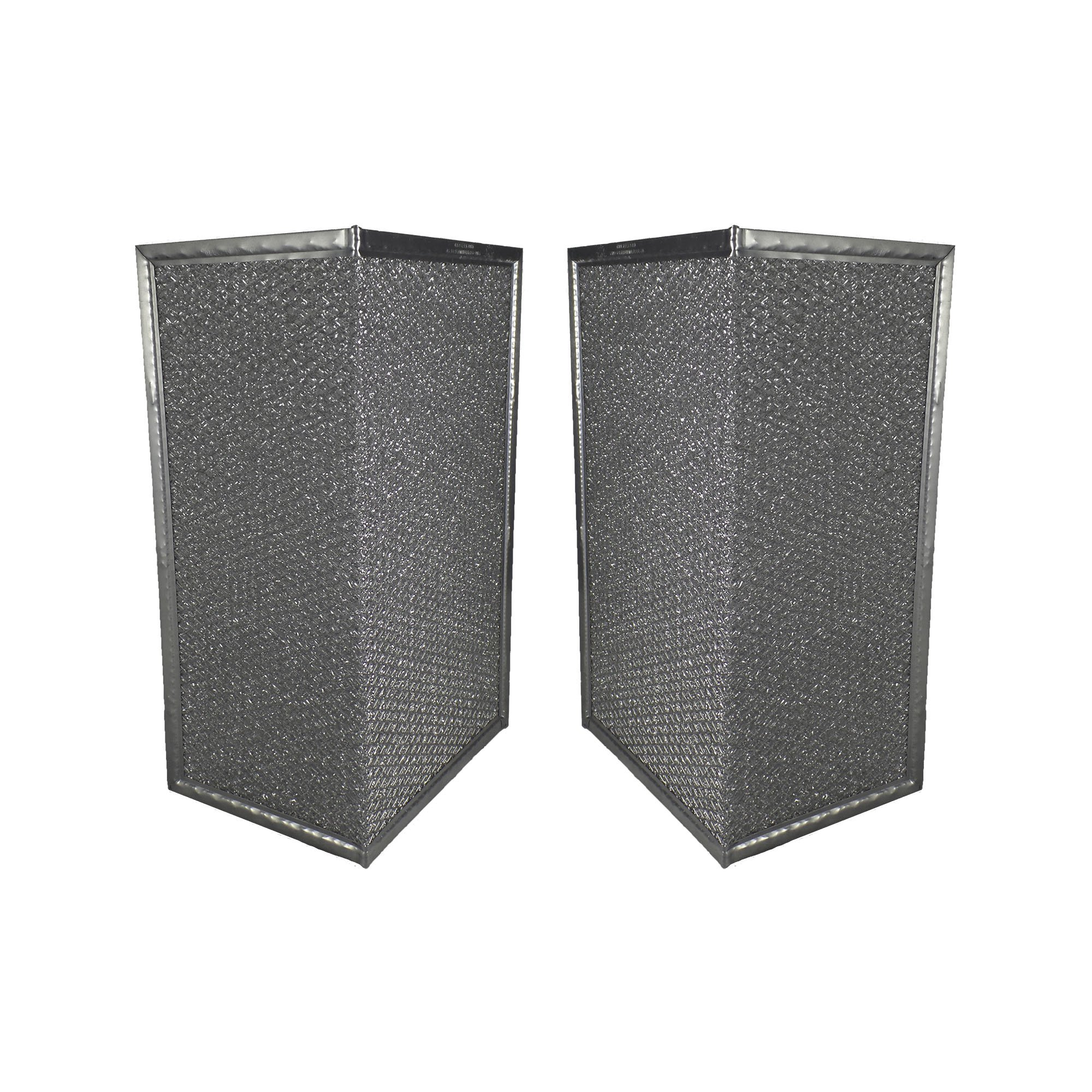 2 PACK Air Filter Factory Compatible Replacement For Broan SR610080, 610080 Aluminum Mesh Grease Filter