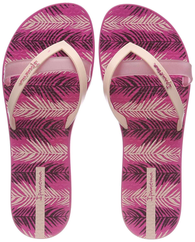 Ipanema Damen Kirei Silk Iii Fem Zehentrenner  38 EU|Mehrfarbig (Pink/Pink)