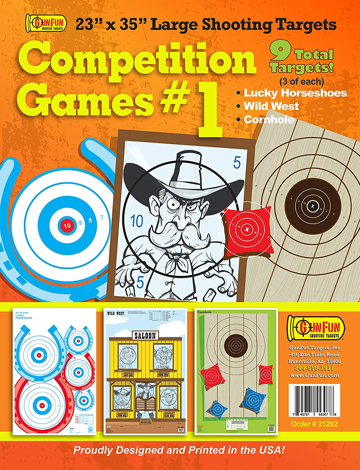 GunFun Targets, Inc. Competition Games #1