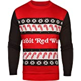 1ed3be5b4 Detroit Red Wings One Too Many Light Up Sweater - Mens Extra Large
