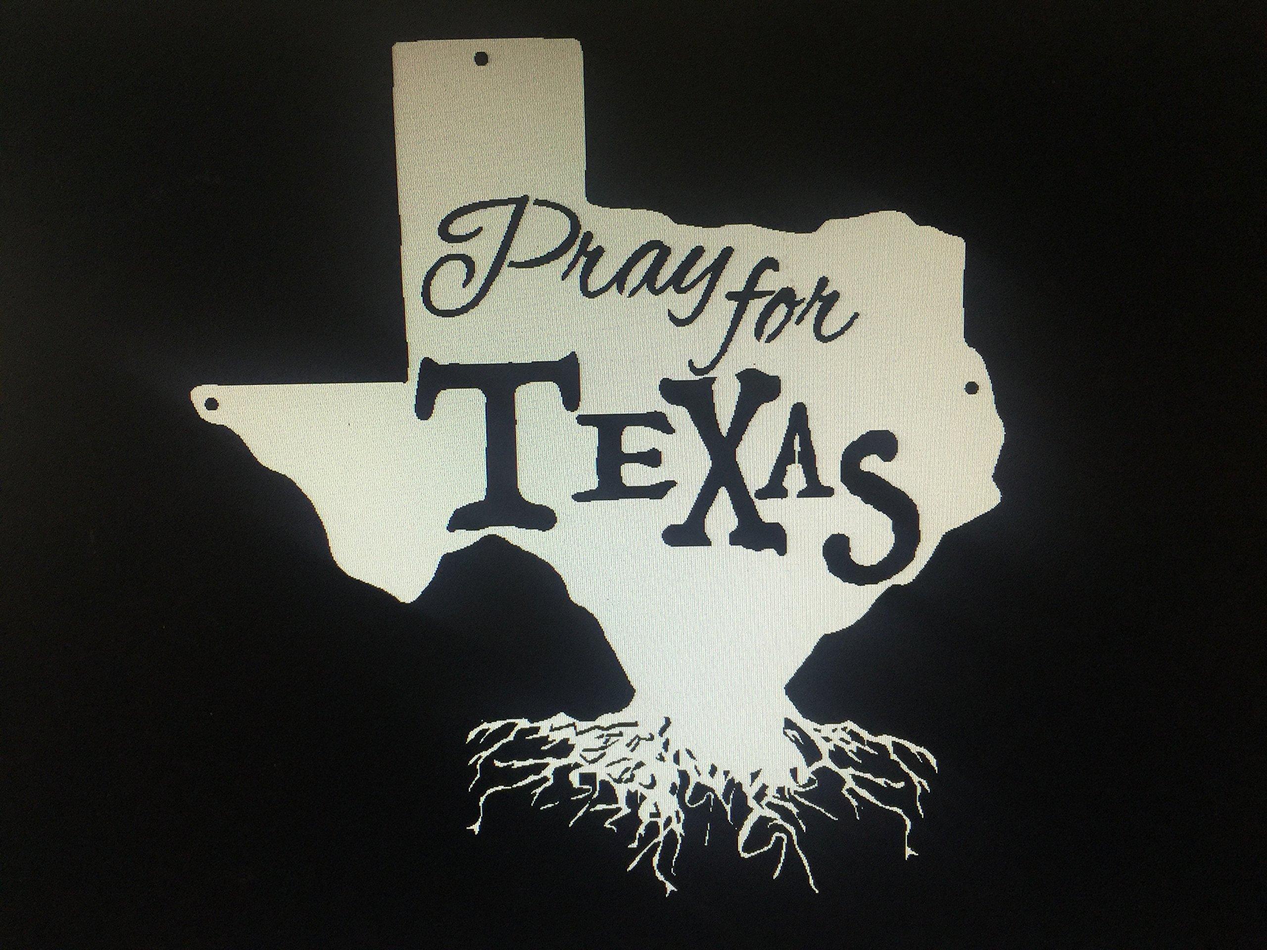 Pray for TEXAS - Custom Metal Sign