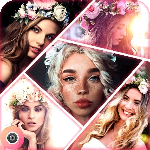Beauty & Makeup Filter Selfie, Photo Editor-Wonder Camera