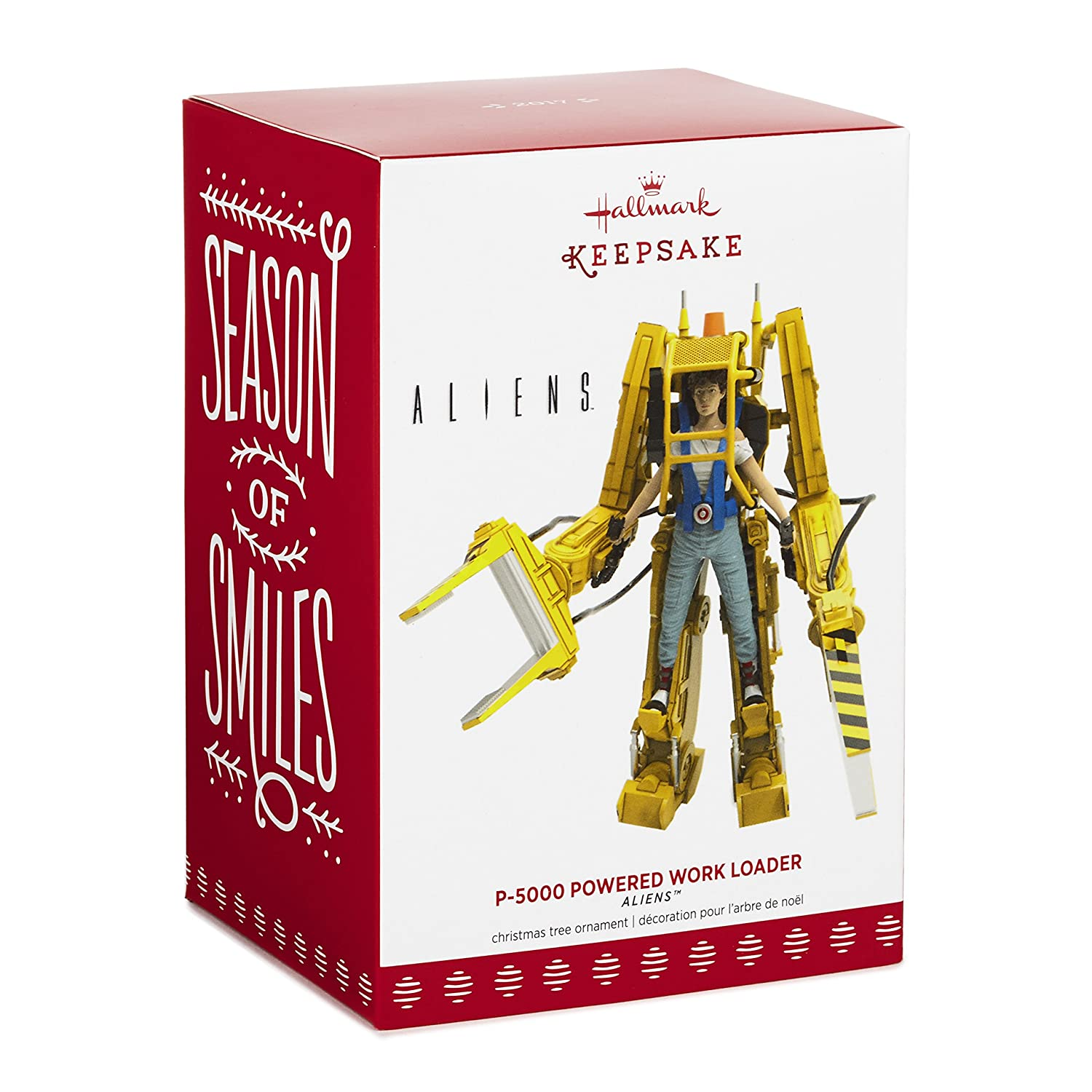 Amazon.com: Hallmark Keepsake 2017 Aliens P-5000 Powered Work Loader ...