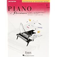Piano Adventures: Level 1 - Technique & Artistry Book (2nd Edition)