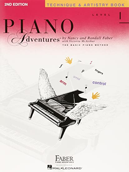 piano adventures technique secrets poster