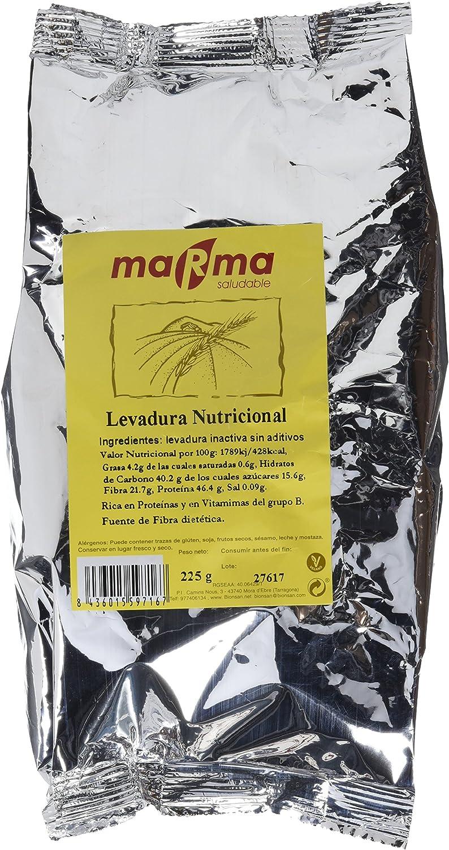 MARMA Levadura Nutricional en Copos Sin Aditivos, 225 g