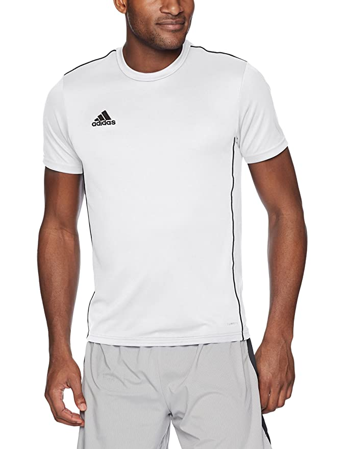 half off 616d5 f1431 Amazon.com  adidas Mens Core18 Jersey  Sports  Outdoors
