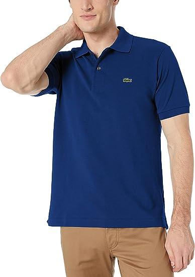 Marine Blue Lacoste Men/'s Cotton Polo Shirt Pique/' L12.12