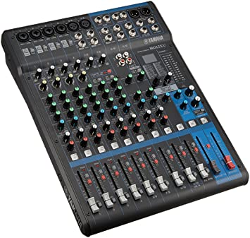 yamaha mixer. yamaha mg12xu 12 in pa mixer \u0026 usb audio interface - new p