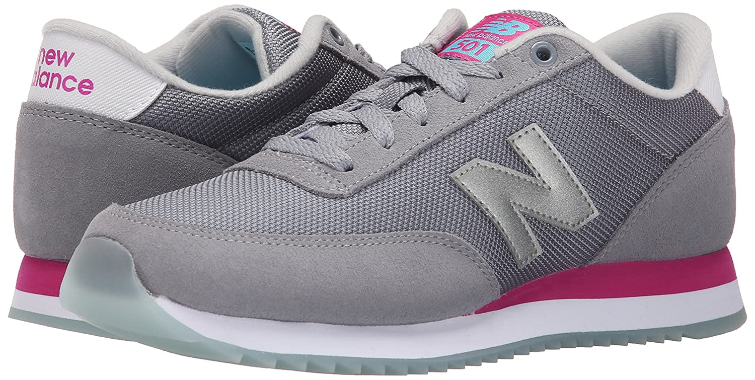 Classical Womens Casual Shoes - New Balance Classics WZ501 Grey/Pink