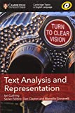 Text Analysis and Representation (Cambridge Topics in English Language)