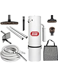 central vacuum ultra clean unit sq ft with 30u0027 hose cleaning attachment