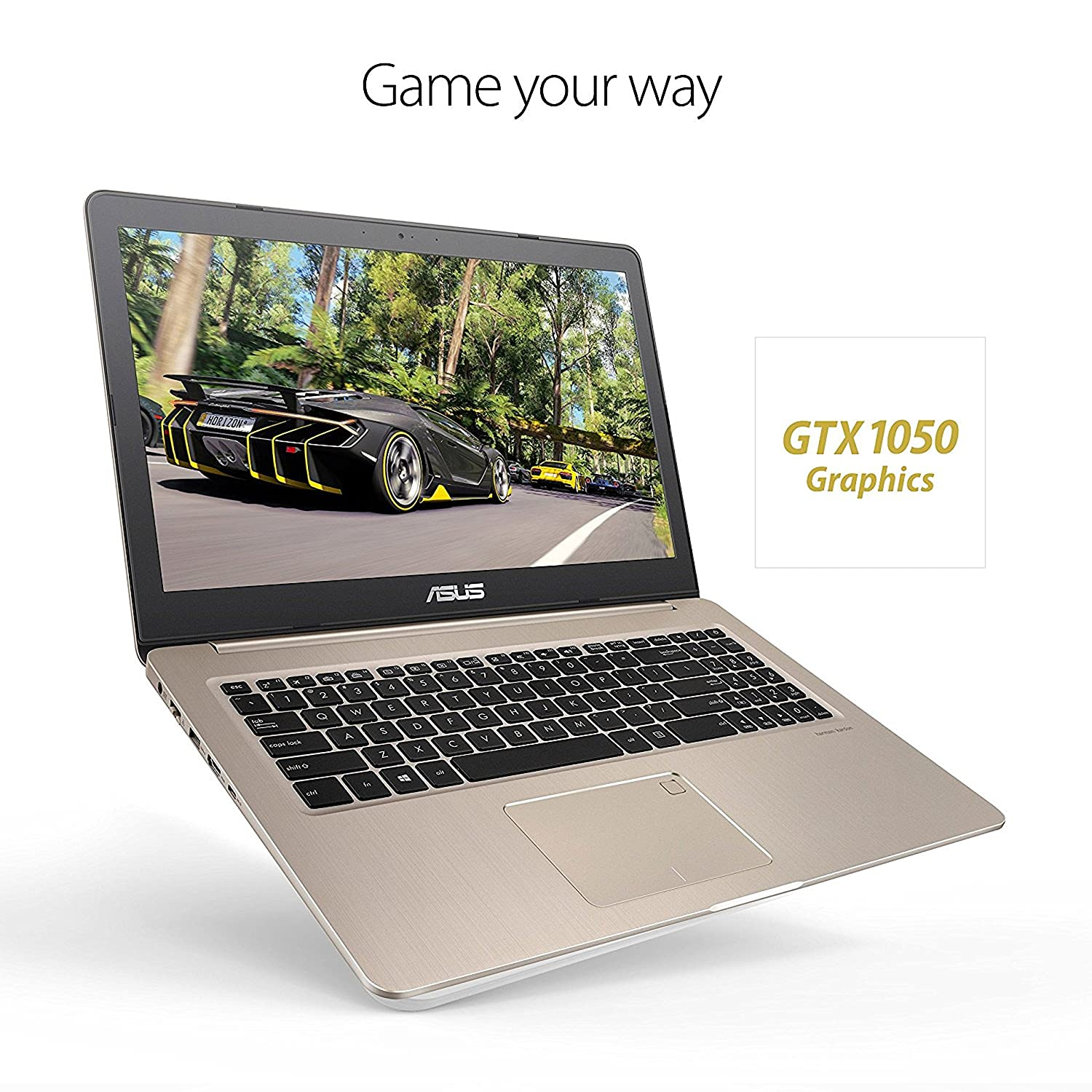 """Amazon 2018 Asus VivoBook PRO 15 6"""" 4K UHD Touchscreen Business and Gaming Laptop Intel Quad Core i7 7700HQ 16GB DDR4 256GB SSD 2TB HDD NVIDIA GeForce"""