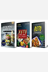 Keto Meal Prep: 3 Manuscripts - Keto Meal Prep For Lazy People, Keto Meal Prep On a Budget and Keto Cookbook (Over 165 Ketogenic Recipes, Includes a 21-Day Meal Plan and 7 Day Meal Plan Under $50) Kindle Edition
