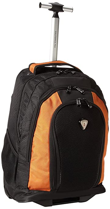Amazon.com | CalPak Winder Orange Unisex 18-inch Rolling ...