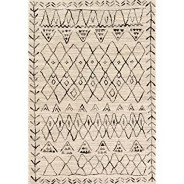 Loloi Rugs, Emory Collection - Heather Gray / Black Area Rug, 9'2  x12'7