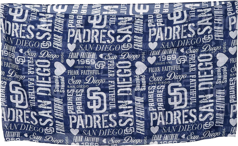 San Diego Padres Slogan Pr Infinity Scarf