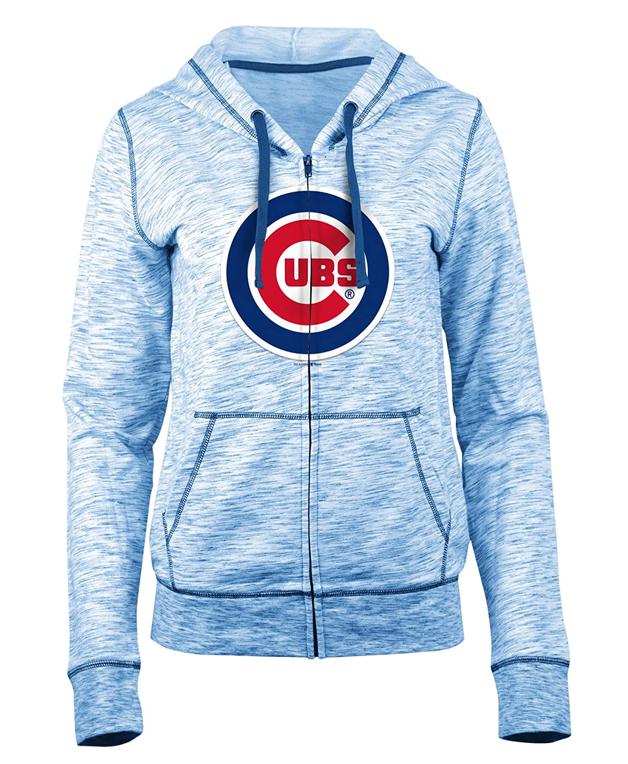 timeless design f9f5d 5a855 Amazon.com : New Era Chicago Cubs Ladies French Terry Space ...