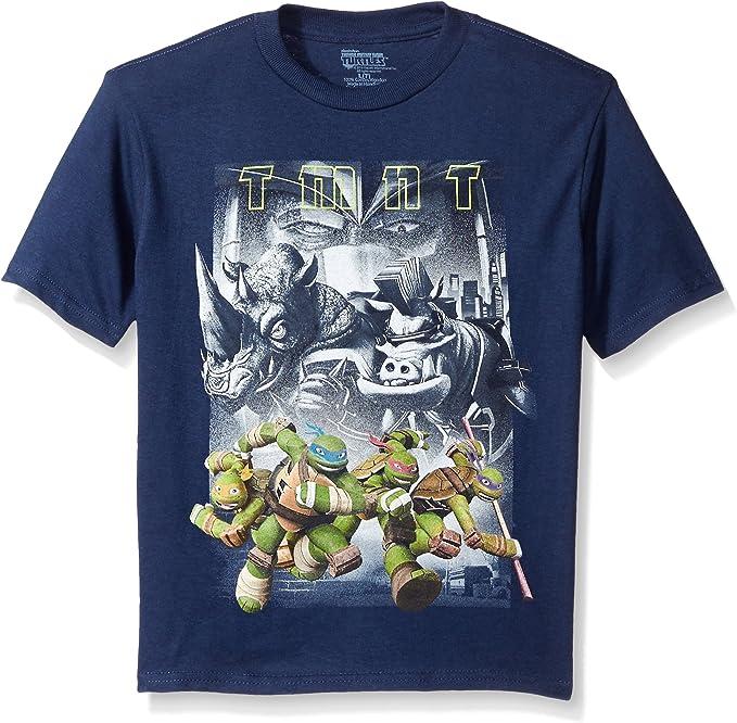 Boy/'s Nickelodeon Teenage Mutant Ninja Turtles Tee Size 5 6 Cotton Medium New