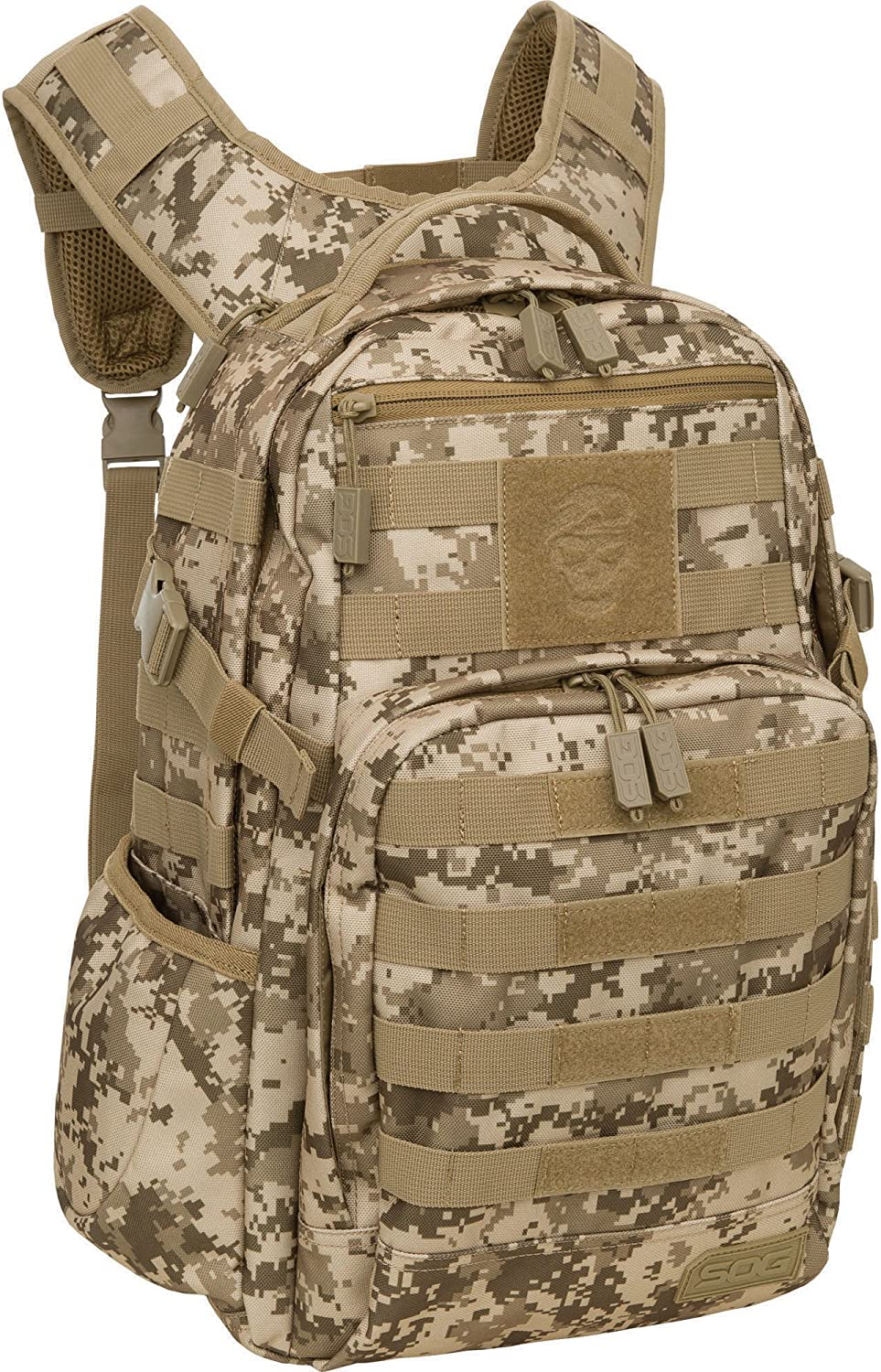 SOG Ninja Tactical Day Pack, 24.2-Liter, Camo : Sports & Outdoors