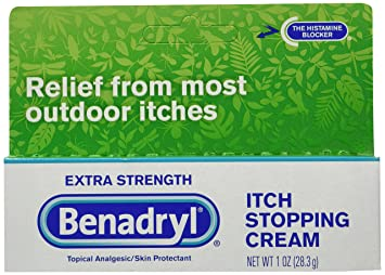 Benadryl Extra Strength Itch Stopping Cream, 3 Count