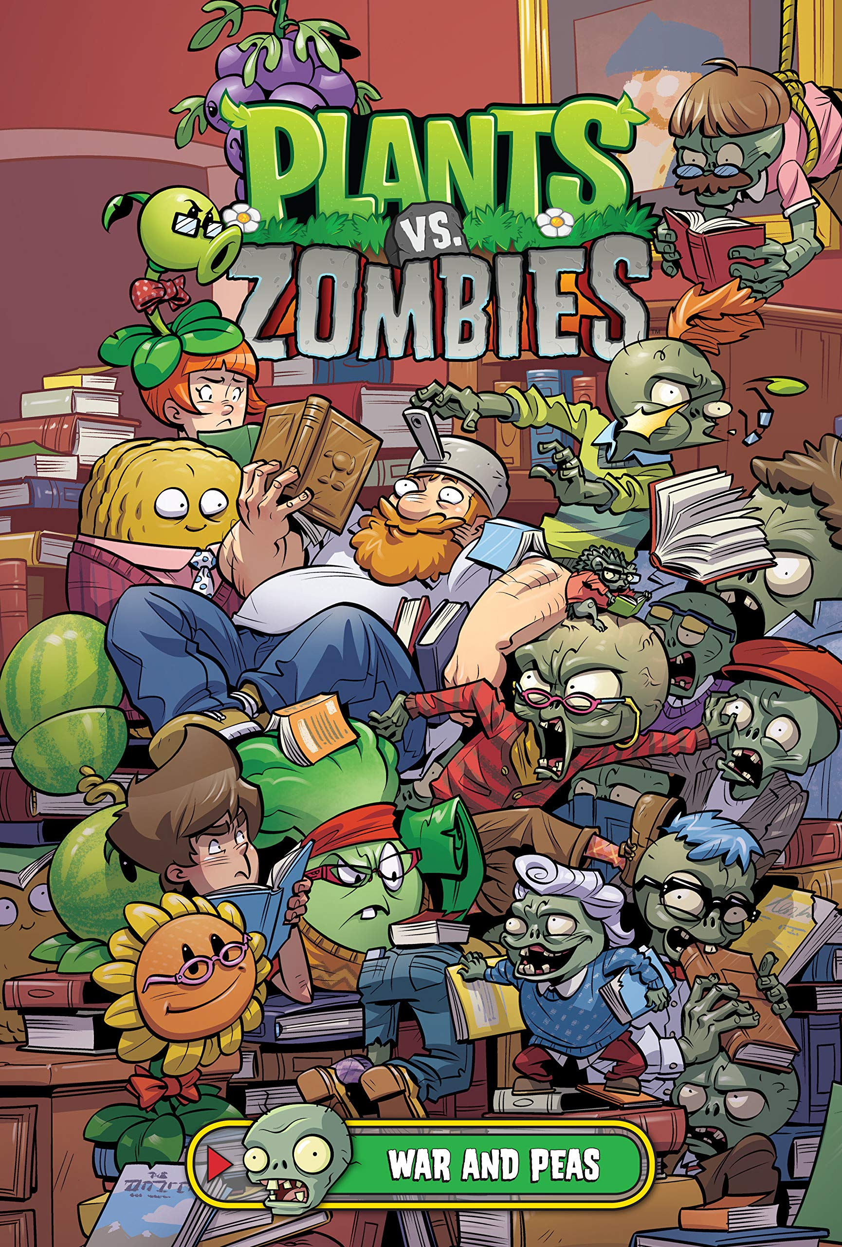 Amazon Com Plants Vs Zombies Volume 11 War And Peas