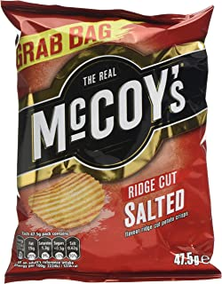 McCoys Salted Potato Crisps Grab Bag 475 G Pack Of 36