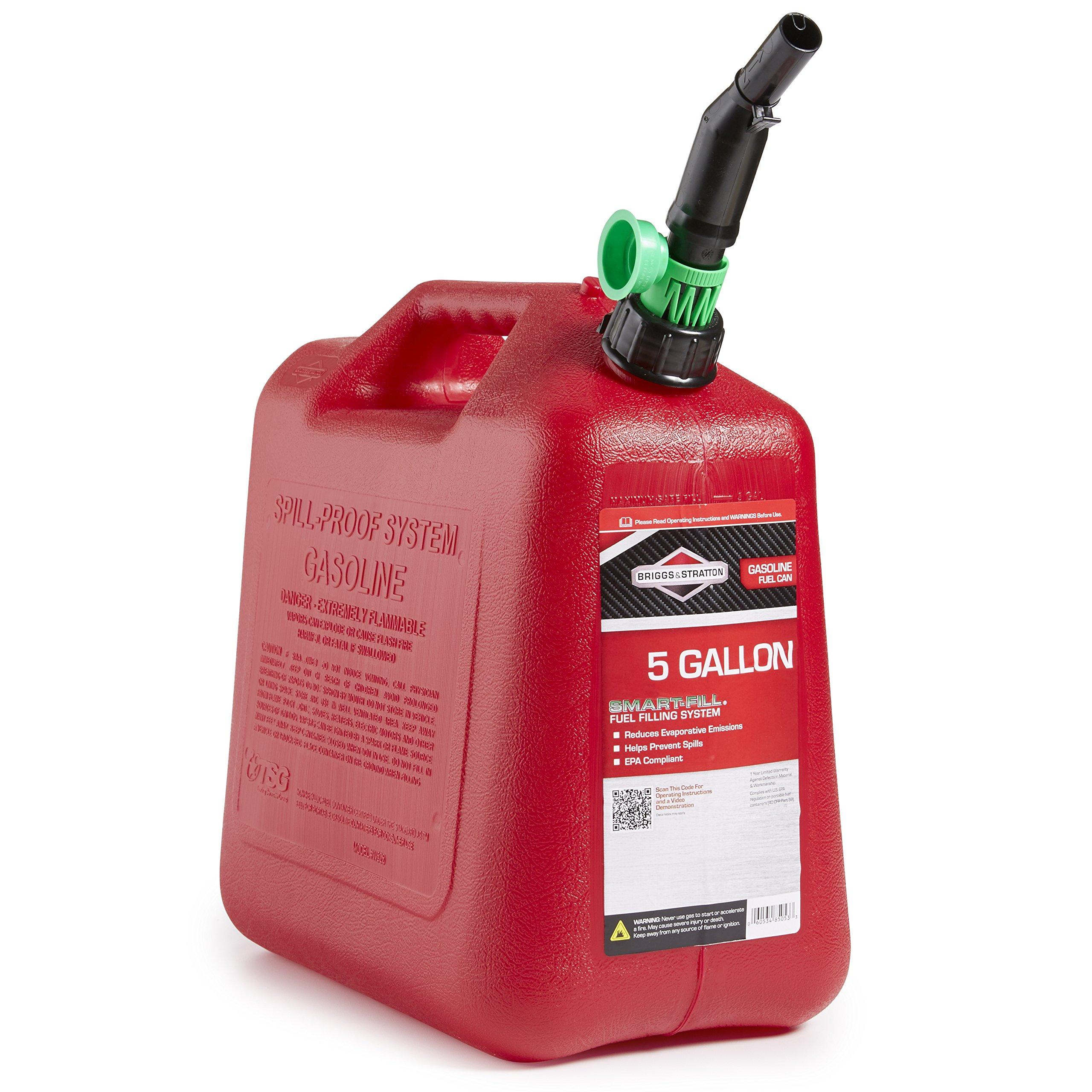 Briggs & Stratton 85053 5-Gallon Gas Can Auto Shut-Off by Briggs & Stratton