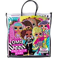 LOL OMG Ultimate Dress Up Designer by Horizon Group USA.Decorate 6 Dolls with Over 100 Accessories.DIY Fashion Craft Kit…