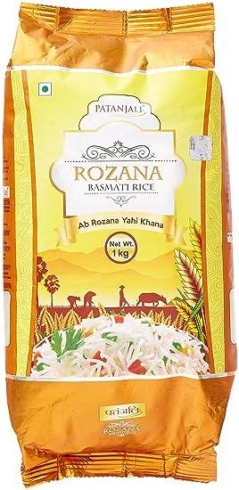 Patanjali Rozana Basmati Rice, 1kg