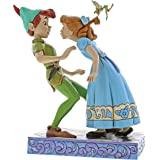 Disney Traditions Figurina di Peter Pan and Wendy, Resina, Multicolore, 170x110x190 cm