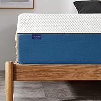 Twin Mattress, Iyee Nature 10 inch Gel Memory Foam Mattress in a Box, Foam Bed Mattress Medium Firm Foam Mattress