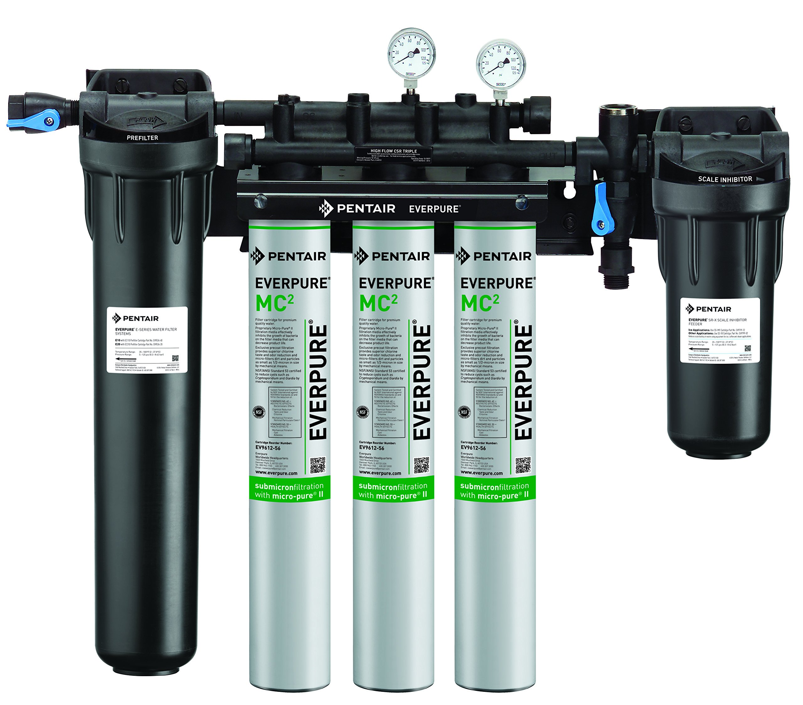 Everpure EV9328-06 High Flow CSR Triple-MC2 System