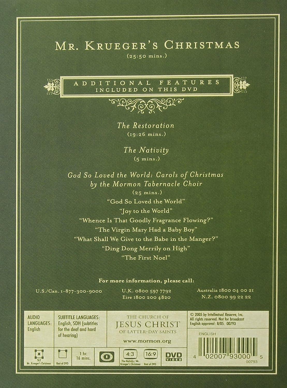 Amazon.com: Mr. Krueger\'s Christmas - 25th Anniversary Edition ...