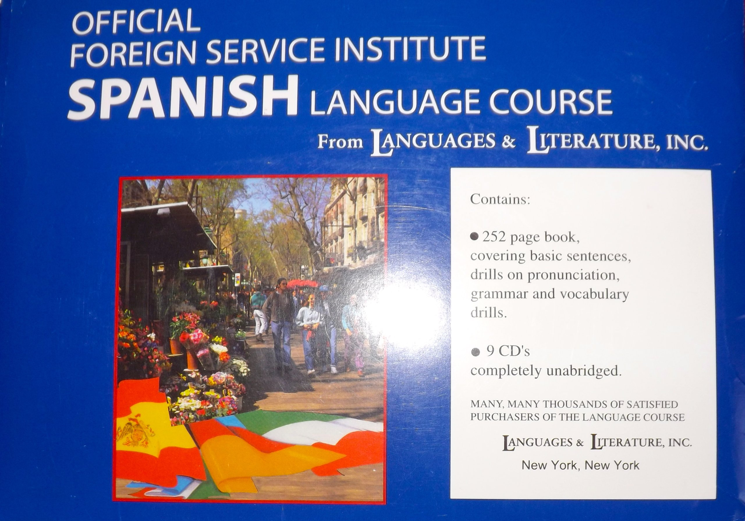 Download Official Foregin Service Spanish Language Course, Book and 9 Cd's; Units 1-12 PDF