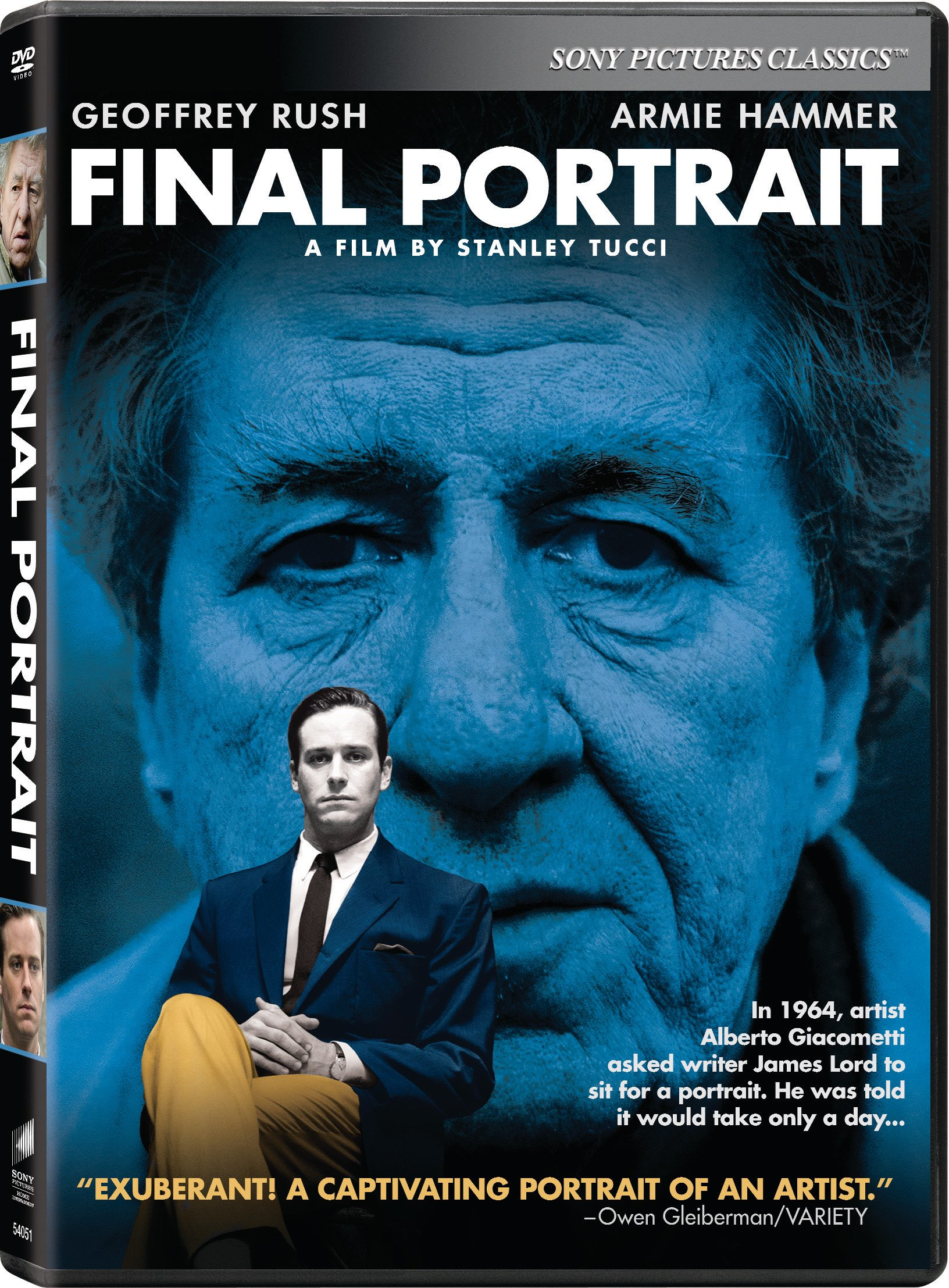 DVD : Final Portrait (Widescreen, Dolby, AC-3, Subtitled)